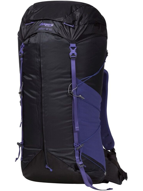 Bergans W's Helium 55 Solid Charcoal/Funky Purple